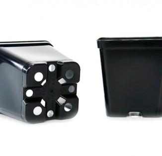 Горщик для розсади (квадратнний) 9*9*10см V 0,5