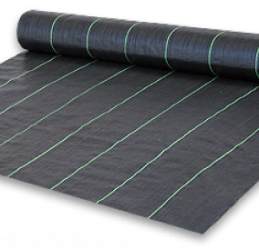 Агроткань черная 105г/м2  3.3м*100м